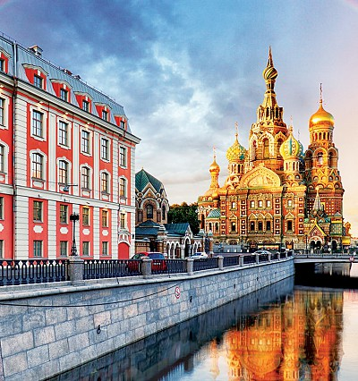 48 hours in St. Petersburg, Russia