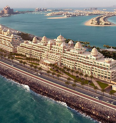 VIP guests and royals attend opulent opening of Emerald Palace Kempinski Dubai