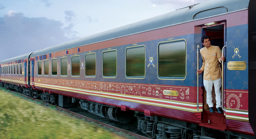 Discover India by train