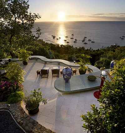 David Bowie's Caribbean paradise is now available to rent