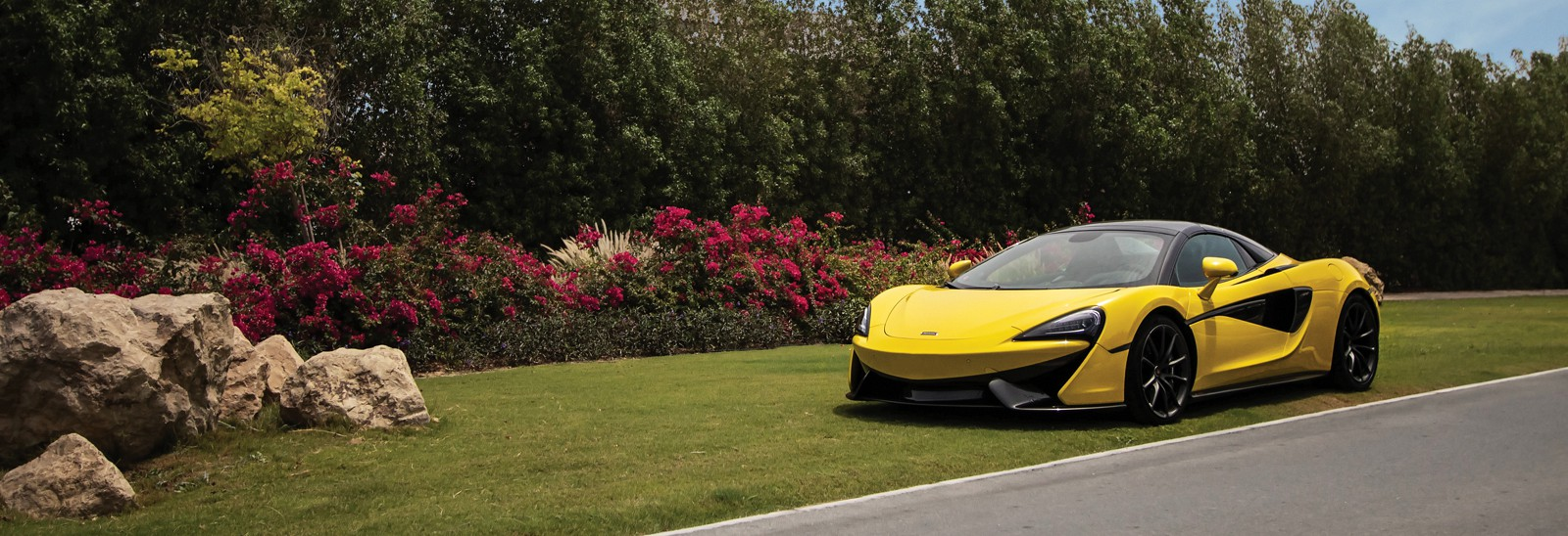 Along comes the Spider: the new McLaren 570S Spider