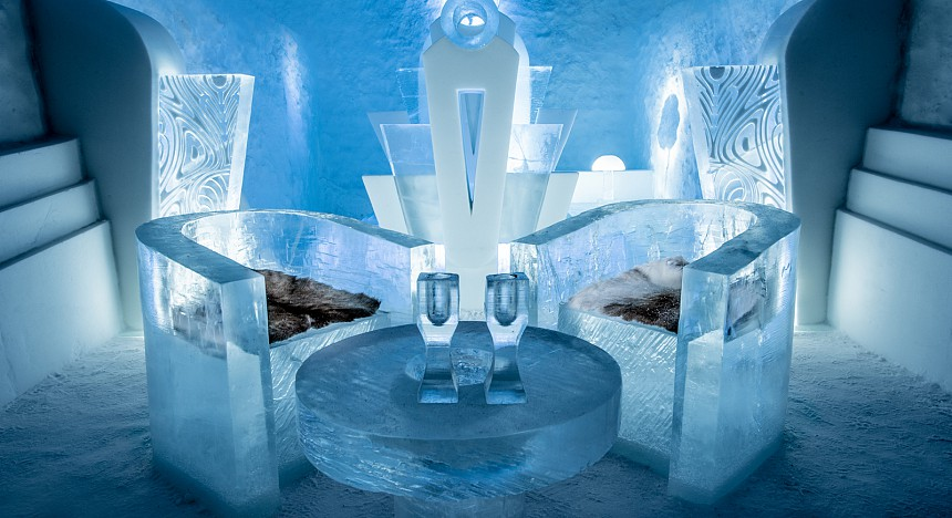sweden new ice hotel