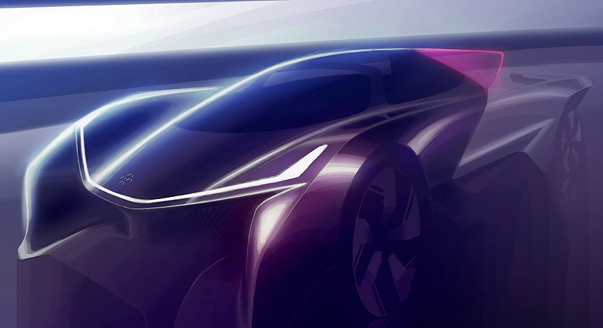Faraday Future Concept sketch