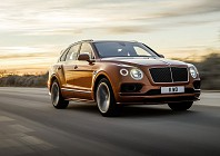 The Bentley Bentayga Speed – the world's fastest SUV