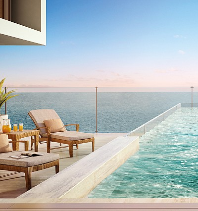 The Royal Atlantis Resort & Residences will open with a record-breaking 90 swimming pools