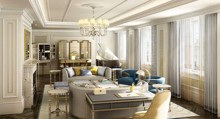 The most luxurious hotel suites in london luxury travel for Luxury hotel suites