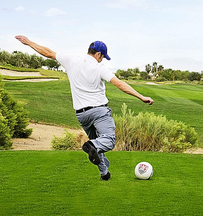 What in the world? The new sport of FootGolf digs its studs into golf courses