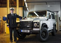Land Rover sets auction record for two millionth Defender