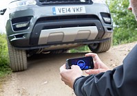 Video: Watch a Land Rover being driven via a smartphone