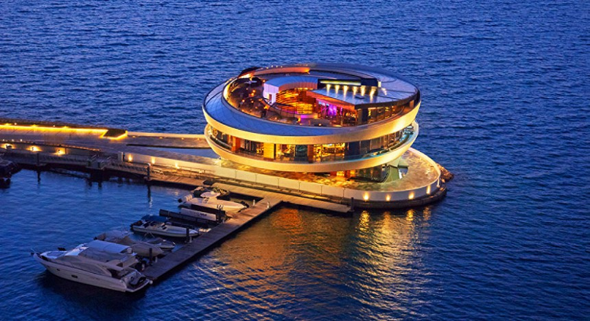 Doha's Nobu restaurant - the world's largest