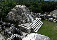 Ancient Mayan relic damaged by construction crew
