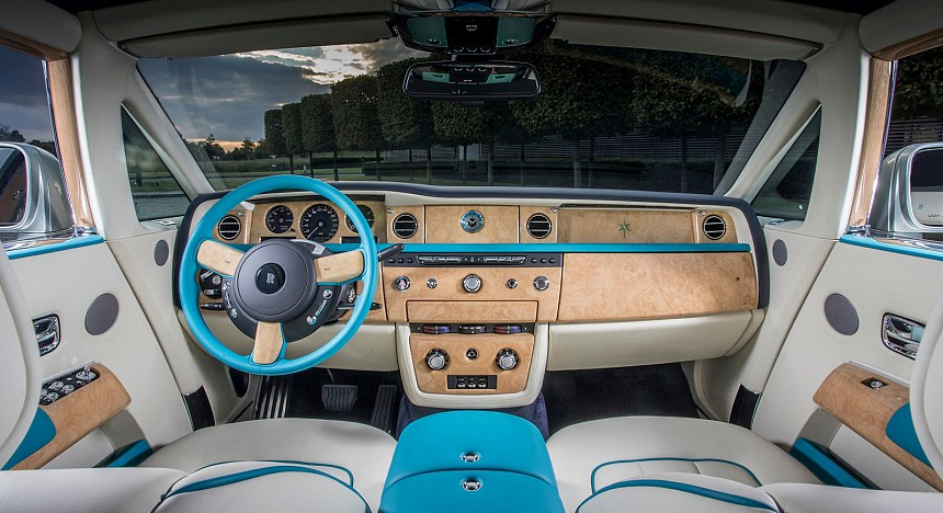 Rolls-Royce's bespoke Suhail Collection