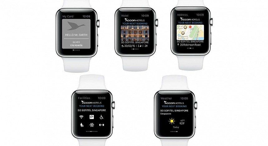Hotels are hooking up with Apple Watch