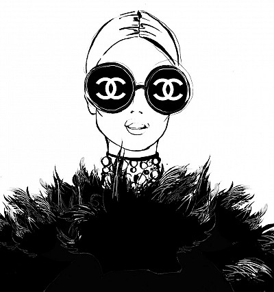 Interview: Fashion Illustrator Megan Hess