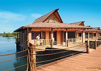 Disney offers luxury Polynesian-themed bungalows in Florida
