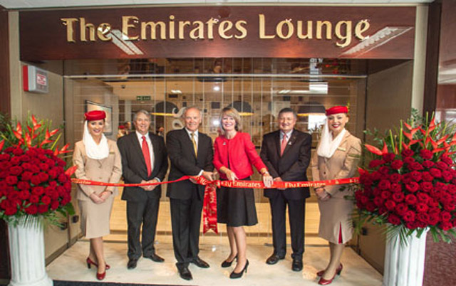 Emirates' new lounge at Glasgow Airport
