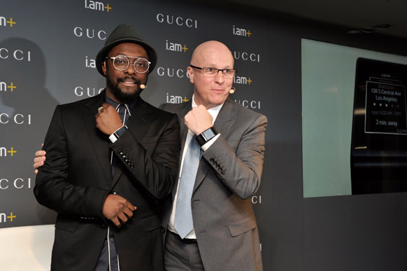 Will.i.am and Gucci partner on a new smartwatch