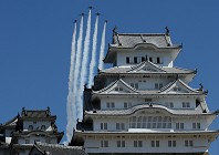 In pictures: Japan's historic Himeji Castle reopens