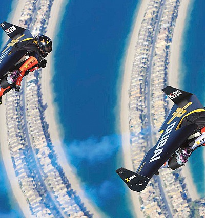 An interview with Dubai's Jetman team