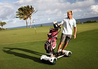 Why just golf, when you can golf board?