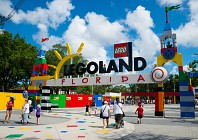Legoland Florida has its currency listed on an exchange board