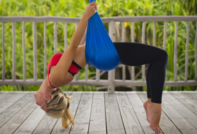 Six Senses Offers Aerial Yoga In The Maldives Luxury