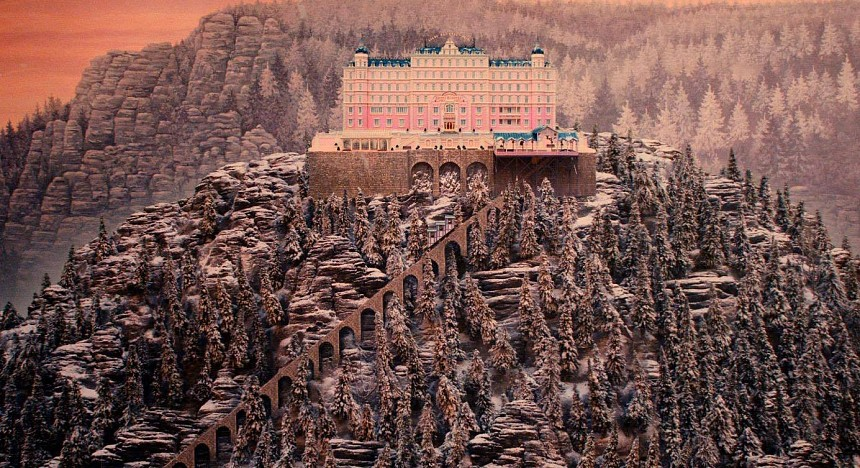 Most of The Grand Budapest Hotel was filmed in Görlitz, Germany