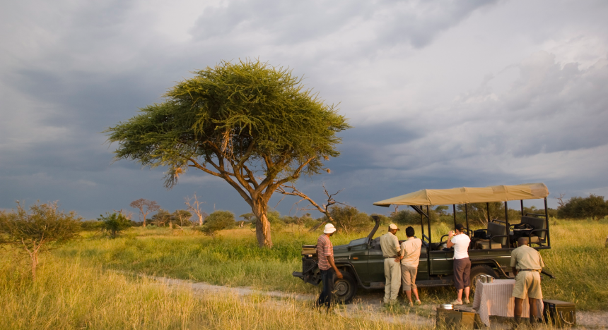 And Beyond's safari in Botswana offers drives every morning and afternoon