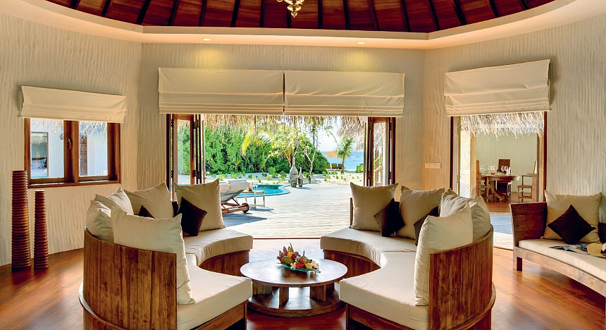 The Hideaway Palace in the Maldives is perfect for pure relaxation