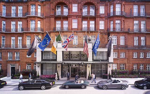 Number three: Claridge's (1,900 multi-millionaire visitors)