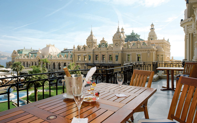 The Diamond Suite Charles Garnier terrace at Hôtel De Paris Monte-Carlo