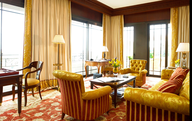 Carre d'Or Suite at Hôtel Metropole (Picture: Eric Cuvillier)