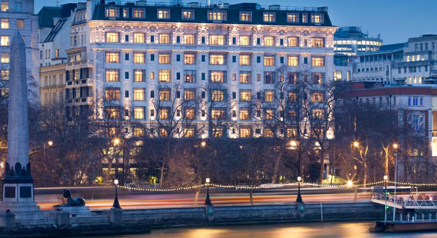 Number four: The Savoy (1,800 multi-millionaire visitors)