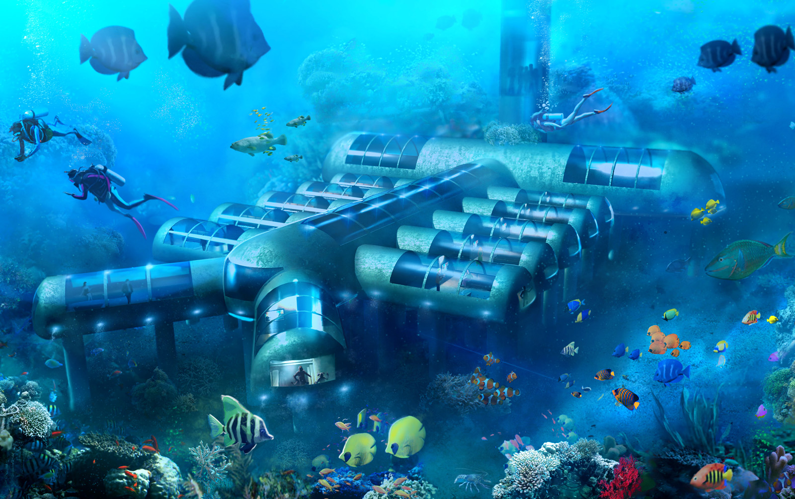 Underwater Hotels Planned For Egypt Malaysia Hawaii And Bahamas Luxury Travel Magazine