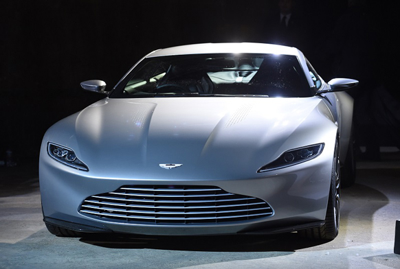 The New Bond Car Is A Stunning Aston Martin DB10