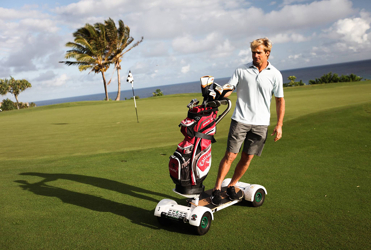 Why Just Golf When You Can Golf Board Luxury Travel