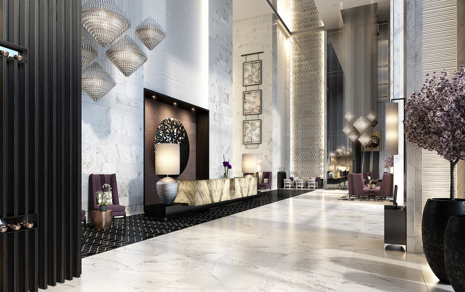 Steigenberger takes a step into dubai s luxury hotel scene for Business hotel design