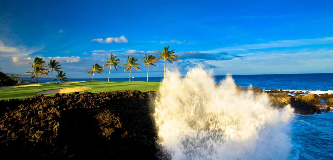 Waikoloa Beach Course at Hilton Waikoloa Village, Hawaii