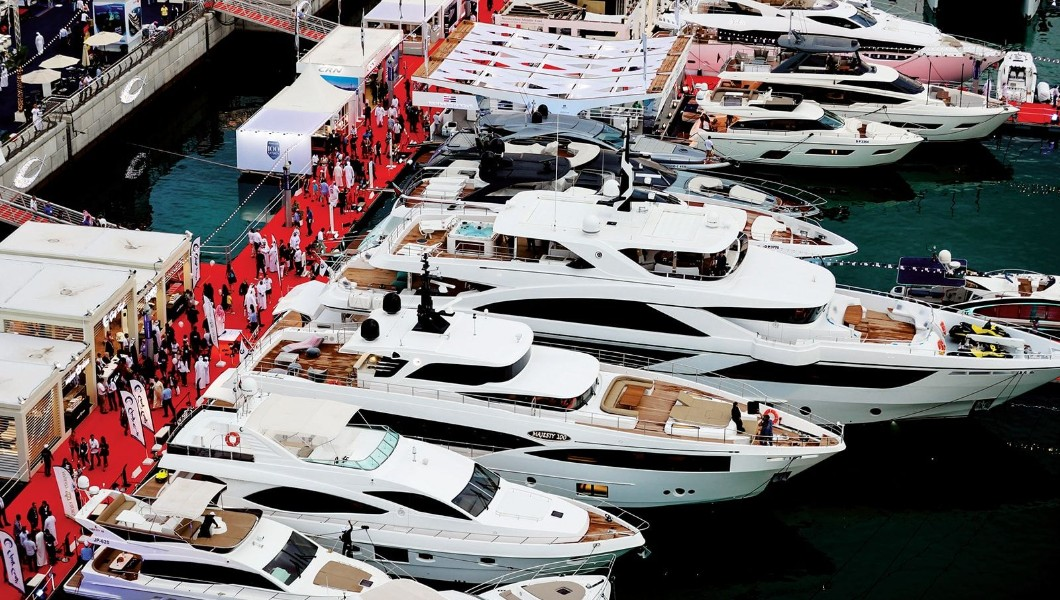 the Dubai International Boat Show