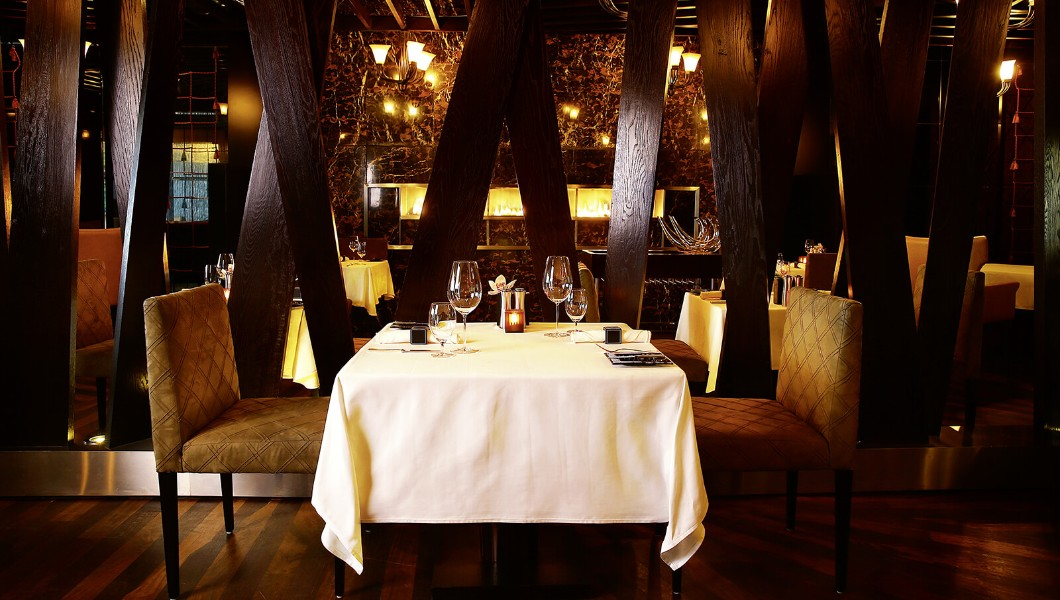 Marco Pierre White Steakhouse, Fairmont Bab Al Bahr in Abu Dhabi