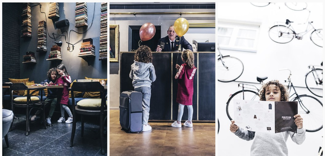 Kids Getaway Package, The Pulitzer Amsterdam
