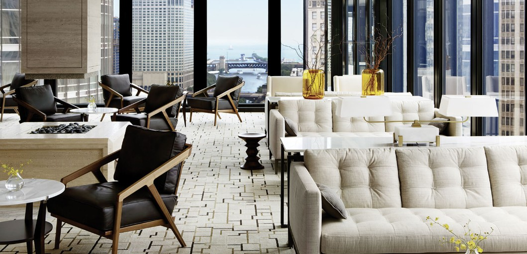 The Langham, Chicago - Lounge Area